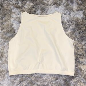 Free People   Cropped High Neck Camisole